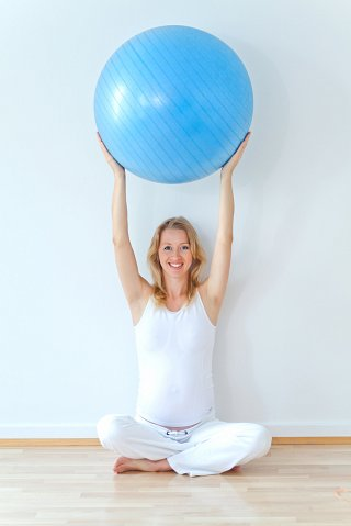 Posture or pilates ball