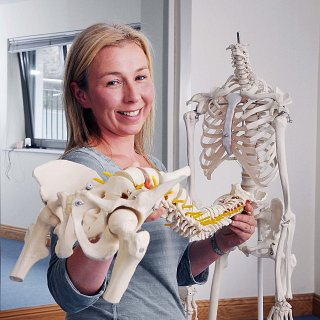 Sally Ann Quirke, Chartered Physiotherapist and author of managebackpain.com