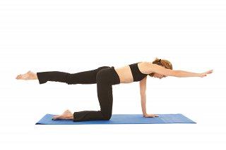 Sample Pilates Exercise - swimming prep