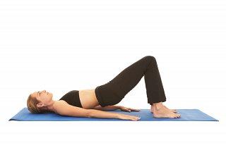 Pilates Sample Exercise - Hip Bridge