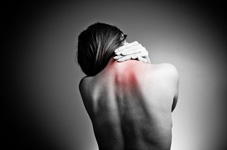 One sided back pain